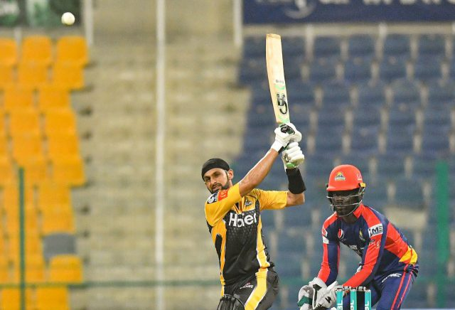 PSL 2021: Peshawar Zalmi knockout defending champions Karachi Kings. Pic/PSL/PCB