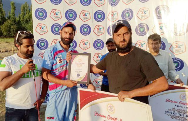 Harwan League: Gulfam Challengers beat Sheikh Javaid CC. Pic/KSW