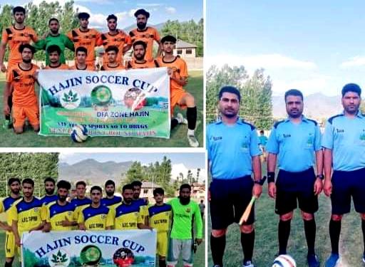 Hajin Soccer Cup kicks off. Pic/KSW