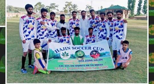 Soccer Cup Hajin: FC Hygam beat Royal FC Margipora. Pic/KSW