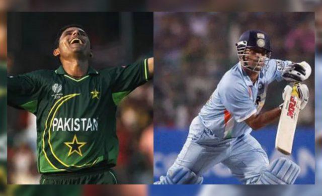 Abdul Razzaq reveals reason about his success against Sachin Tendulkar. Pic/Twitter