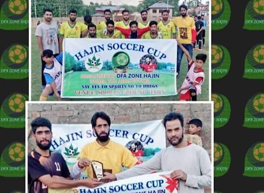 Soccer Cup Hajin: Amir guides Ali Sports to win over Bilaliya Sr Ussan. Pic/KSW