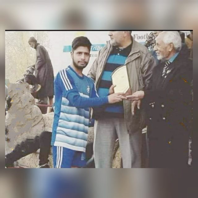 JKFA condoles demise of Bandipora footballer Aamir Rajab. Pic/KSW