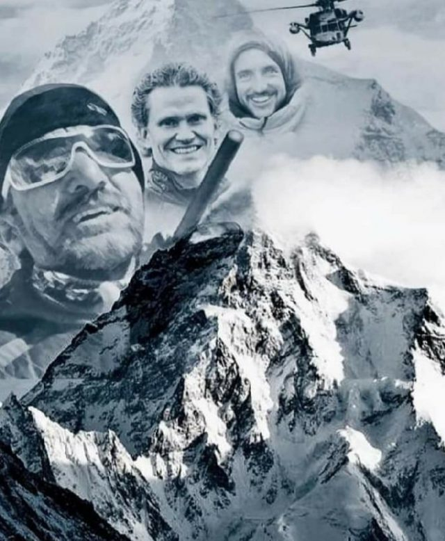 Bodies of Muhammad Ali Sadpara, Snorri and Mohr found on K2. Pic/Graphics Twitter