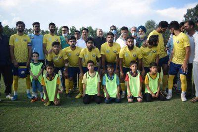 Real Kashmir FC beat SWFC in Bilaliya Knockout tourney opener