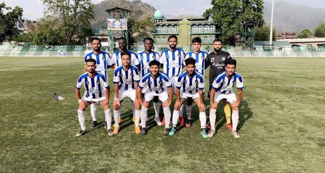 Premier UT League: J&K Bank, Kashmir Avengers FC win matches. Pic/KSW