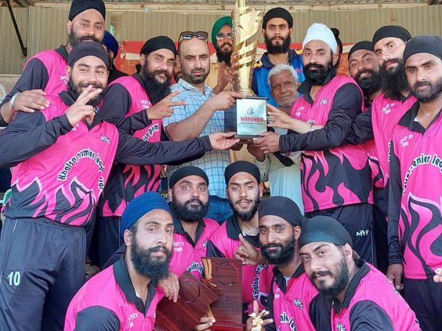 Khalsa Premier League: Singh Warriors beat Srinagar City Club, lifts title. Pic/KPL
