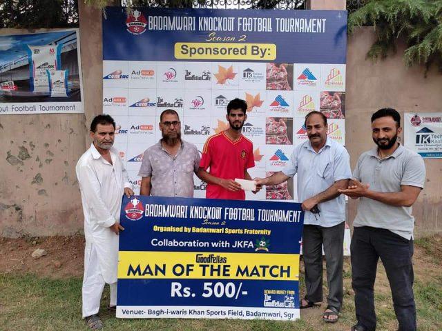 Badamwari Knockout Tourney: Youth FC beat Gunners FC by 2-1 goals, book place semis