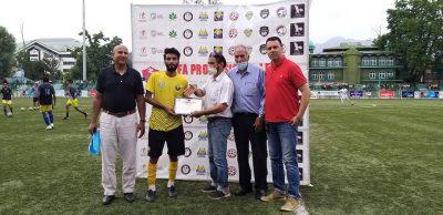 JKFA Professional League: Real Kashmir stun Downtown Heroes, qualification chances badly hit
