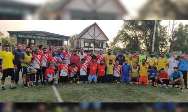 Rivalry 'Ends' as JKFA President joins NIFF event, COVID SOP's floated. Pic/ NIFF Facebook