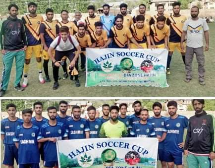 Hajin Soccer Cup: Wahab FC beat Kangan FC. Pic/KSW
