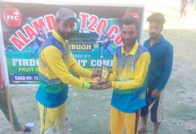 Alamdar T20 Cup: Mushtaq guides Alamdar Sports to win over Secret Stars. Pic/KSW