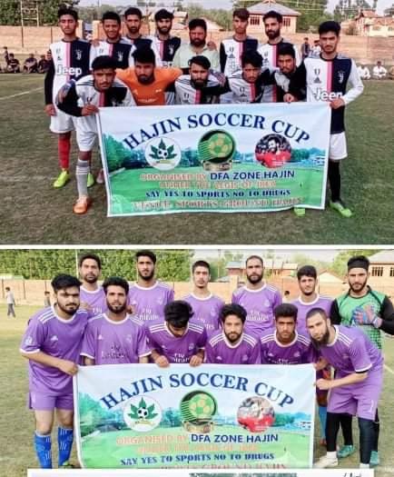 Hajin Soccer Cup: SFC Hamray beat Shahnaz FC Boon. Pic/KSW