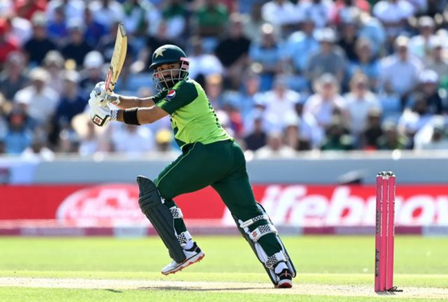 Mohammad Rizwan climbs to 7th place in T20I batsman rankings. Pic/ICC
