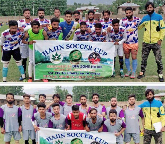 Soccer Cup Hajin: FFC Hygam beat Khanmoh FC 1-0. Pic/KSW