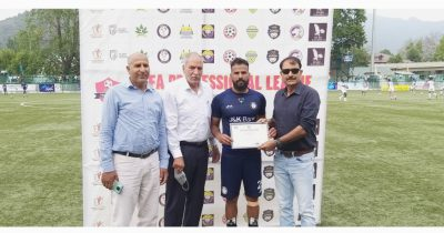 Pro League: J&K Bank FC prevail over Downtown Heroes FC