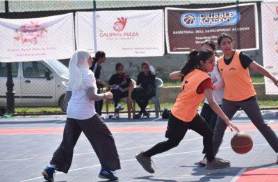 3×3 Women's Basketball league concludes