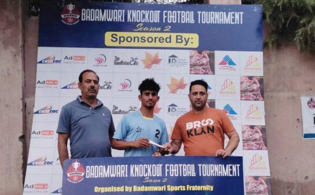 Badamwari Knockout Tourney: Badamwari FC beat Court Road FC on way to semi's. Pic/KSW