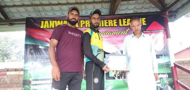 Janwara League : Happy Cricket Club knocked out Blue Stars Naidkhai . Pic/KSW