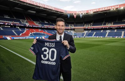 Lionel Messi PSG jersey sold out in 30 minutes