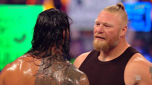 Brock Lesnar makes shock WWE return, surprises everyone. Pic/WWE
