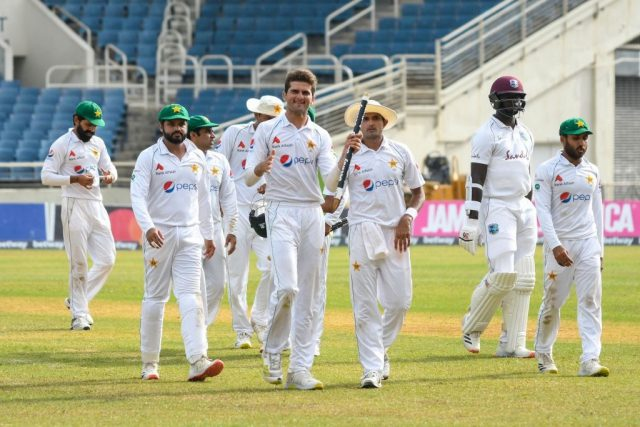 2nd Test: Shaheen Afridi Stars as Pakistan beat West Indies by 109 runs to level series.Pic/PCB