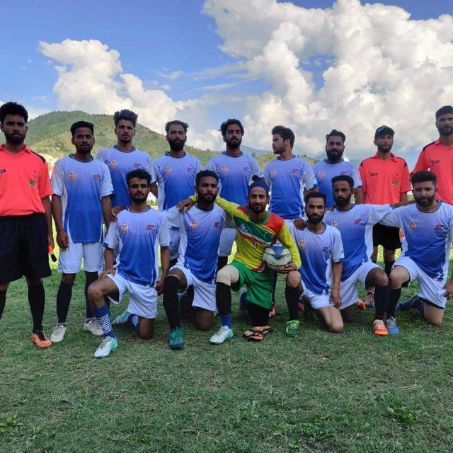 14th Dada Sir memorial league kicks off im Bandipora. Pic/KSW