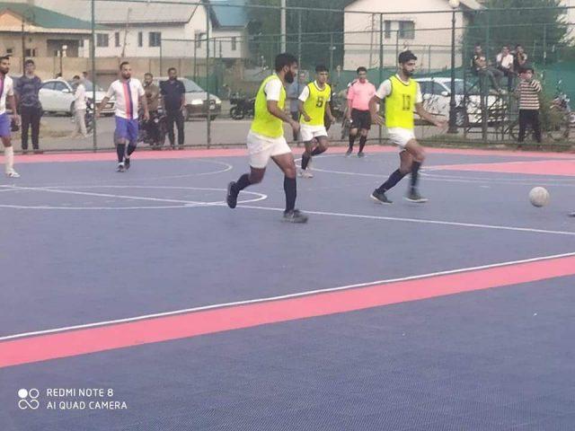JKFA Futsal: Syed Tajudin FC beat Sports Council by 13-4 goals. Pic/KSW