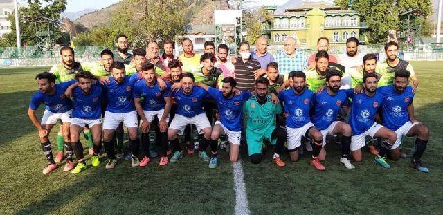 Annual 'Super' football league kicks off in Srinagar. Pic/KSW