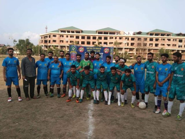 Islamabad FC beat United FC in Anantnag Knockout tourney. Pic/KSW