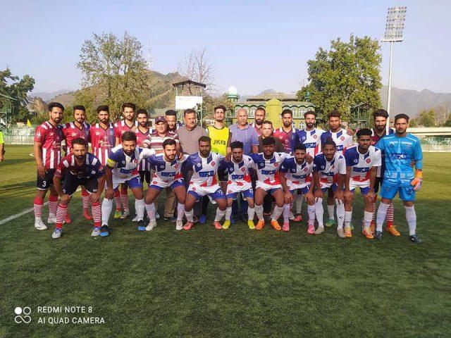 Syed Tajuddin FC bea Hamdaniya FC by 3-1 in Super Division League. Pic/KSW