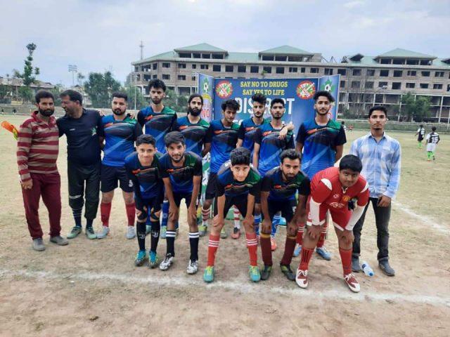 Everton FC beat Friends FC in Junior Division League. Pic/KSW