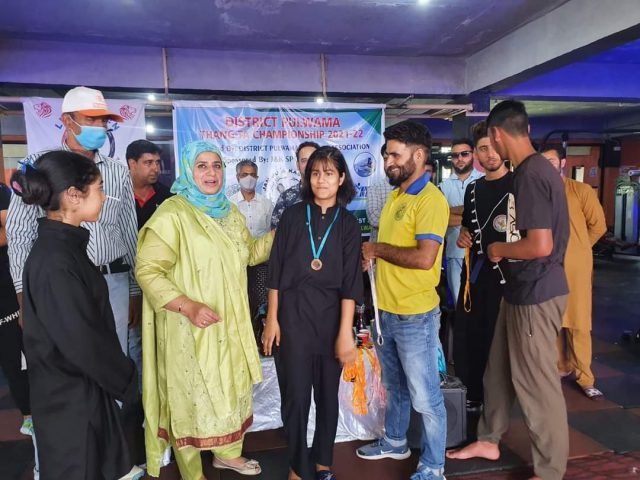 2-day Pulwama Thang-Ta championship concludes. Pic/KSW