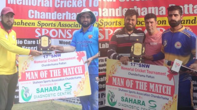 SNW: WCC Lolipora, Friends XI Tangmarg register wins. Pic/KSW