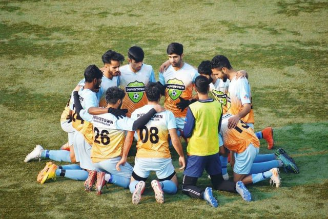 GMW Tourney: DownTown Heroes book place in semifinal. File Pic/KSW