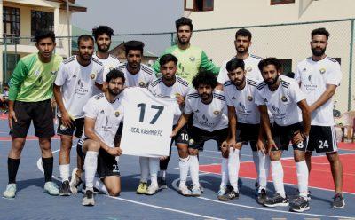 Futsal Tourney: Ruthless Real Kashmir FC crush Hyderya FC by 10-2 on way to final