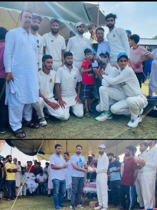 FCC Baramulla lifts 2nd Jehlum Cup. Pic/KSW