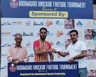Badamwari Knockout Tourney: Shahnawaz stars as Hyderya FC cruise into semifinal