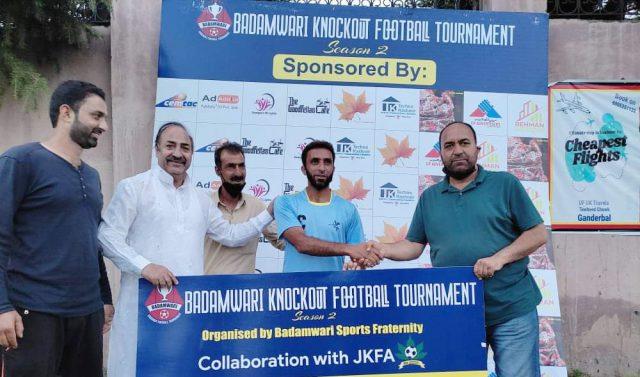Badamwari Tourney: Badamwari FC cruise into final. Pic/KSW