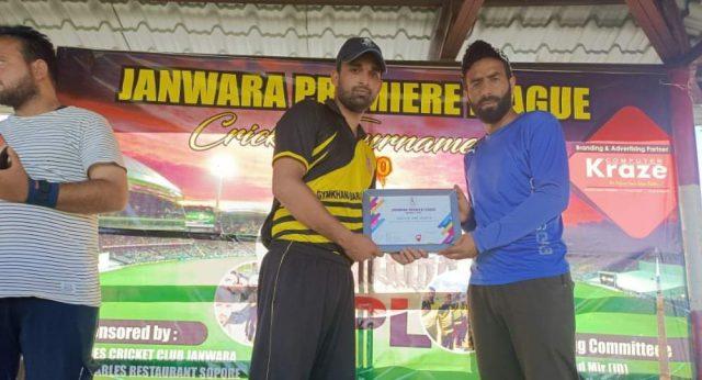 Janwara League: Gymkhana Baramulla outplay Kaloosa XI Bandipora. Pic/KSW
