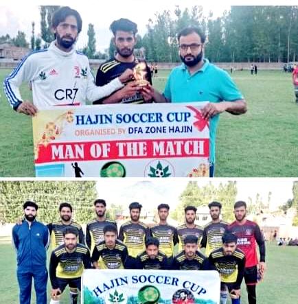 Hajin Soccer Cup: SFC Humray beat Pomposh FC 2-0. Pic/KSW