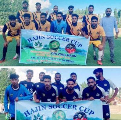 Hajin Soccer Cup: Wahab Sports Hajin beat Seven Star Srinagar