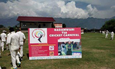 3rd Big Bash Badamwari cricket tourney starting soon