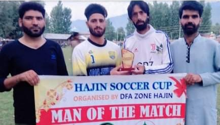 Hajin Soccer Cup: FFC Hygam beat Alamdar Sr on way to semi's. Pic/KSW
