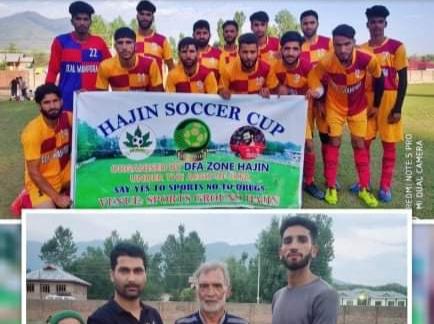 Hajin Soccer Cup: DFA Budgam beat Chinar FC Kulgam on way to semi's. Pic/KSW