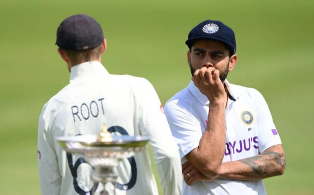 England, India penalised for slow over-rates in first test. Pic/ICC