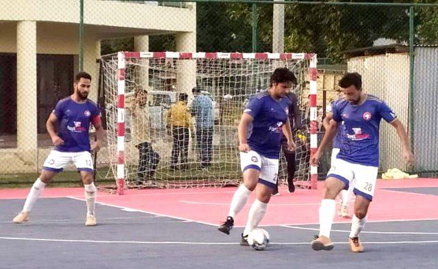 JKFA Futsal championship 2021 kicks off. Pic/KSW