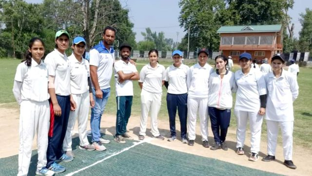 Womens Cricket tournament inaugurated in Srinagar. Pic/KSW