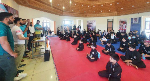 District Srinagar Thang-Ta championship held. Pic/KSW
