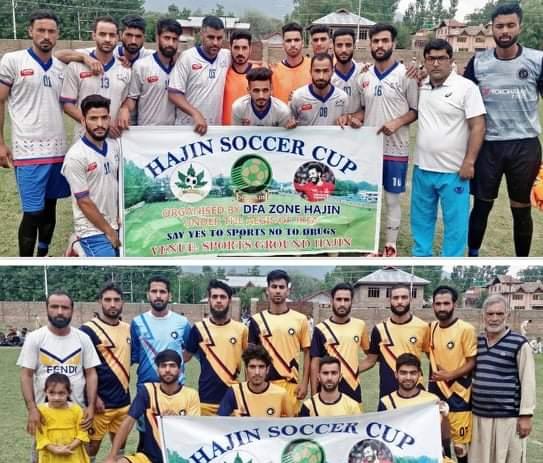Hajin Soccer Cup: Wahab FC Hajin beat HFC Yadipora on way to semi's. Pic/KSW